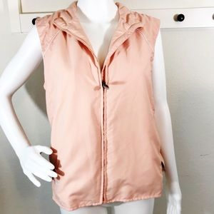 Adidas Climalite Windproof Zip Vest Peachy Blush
